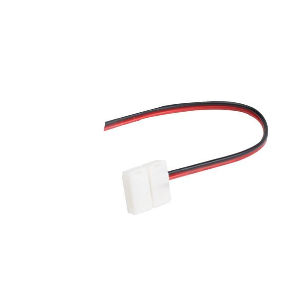 12v 8mm LED Strip Single Ended Connector 130mm