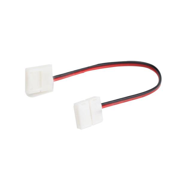 12v 8mm LED Strip Double Ended Connector 130mm