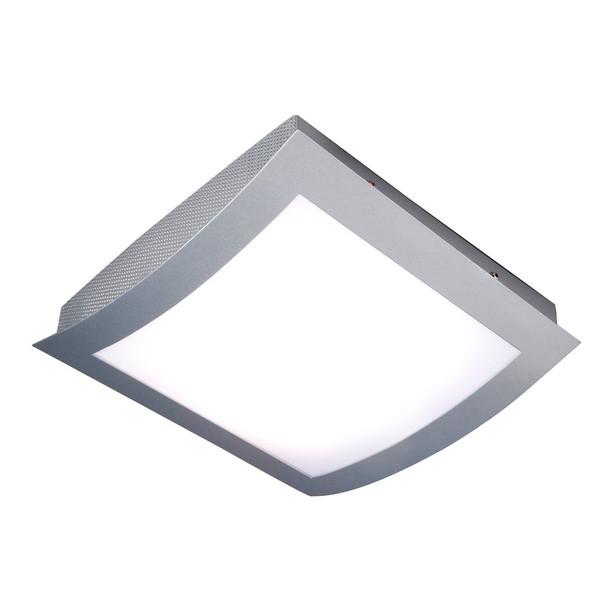 RW226-15 PL Flush Ceiling Light in Satin Silver