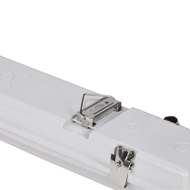 Non Corrosive LED Batten Fixture 4T 40W 4000K IP65