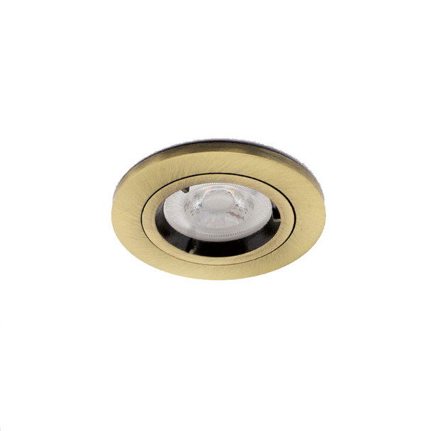 Fixed Fire Rated GU10 Downlight IP20 - up to 50W / 90min Various Finishes