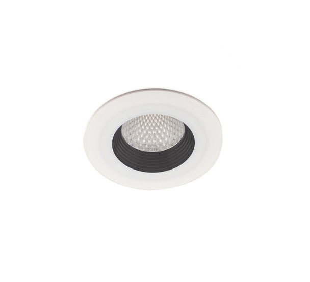 10W Dimmable IP65 & Fire-Rated LED Downlight in Warm White (3000K)