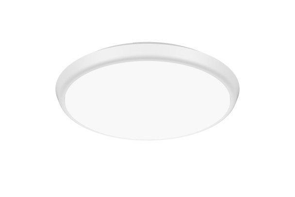 Dimmable LED Slim Bulkhead IP40 Wall & Ceiling Light 3000K