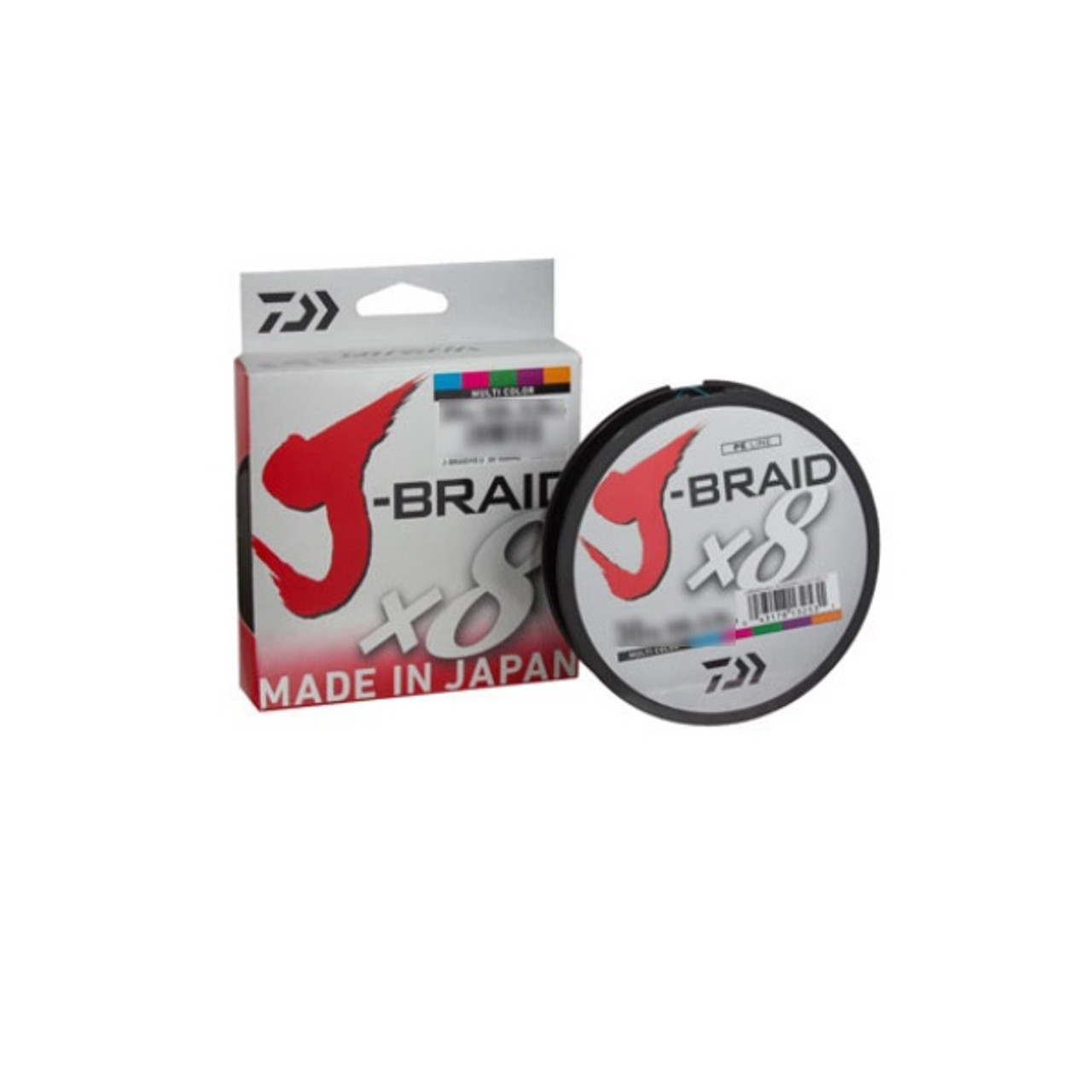 NEW DAIWA J-BRAID X8 FISHING LINE 300m SPOOL ALL COLOURS AND BREAKING STRAINS...
