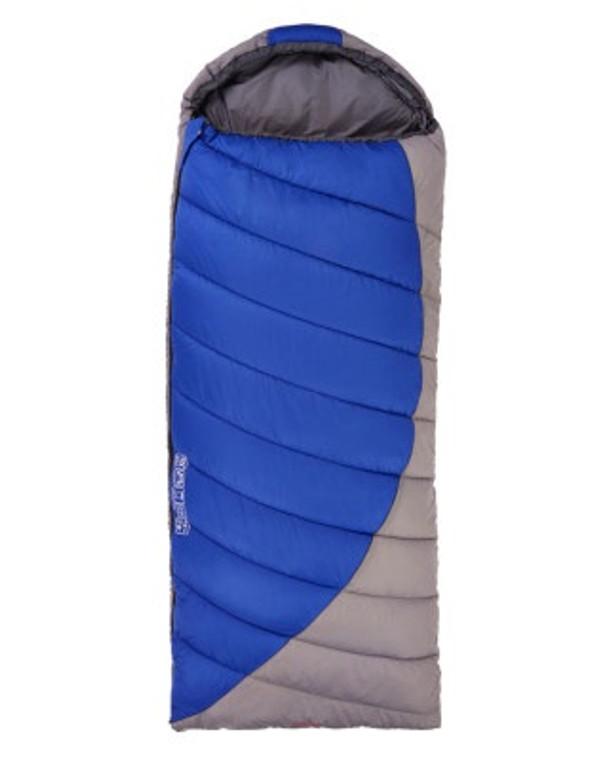 Black Wolf Luxe 250 Sleeping Bag Blue/Grey