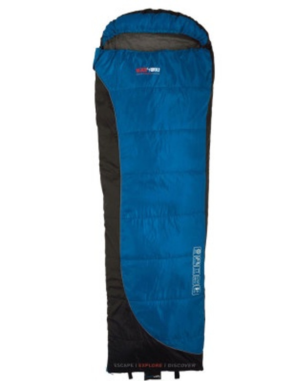 black Wolf Backpacker 50 Sleeping Bag Blue/Black