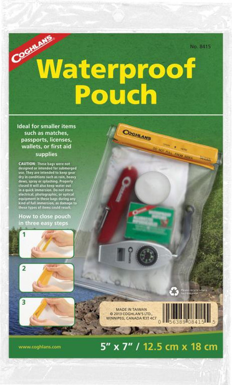 Coghlans Waterproof Pouch Small