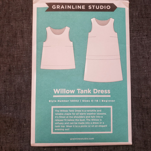 Willow Tank Dress- Grainline