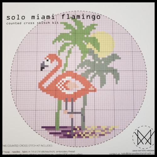 Solo Miami Cross Stitch Kit by Diane Watters