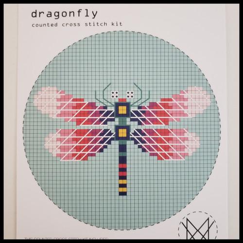 Dragonfly Cross Stitch Kit by Diane Watters