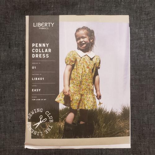 Penny Collar Dress- Liberty Fabrics (sizes 12 m - 4yrs