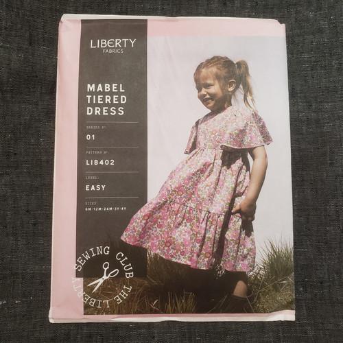Mabel Tiered Dress- Liberty Fabrics (sizes 12 m - 4yrs