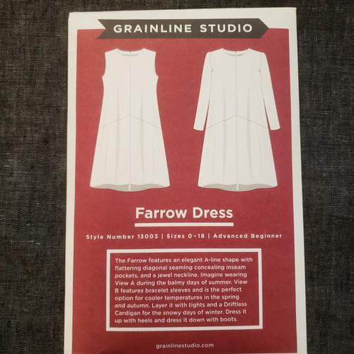 Farrow Dress- Grainline