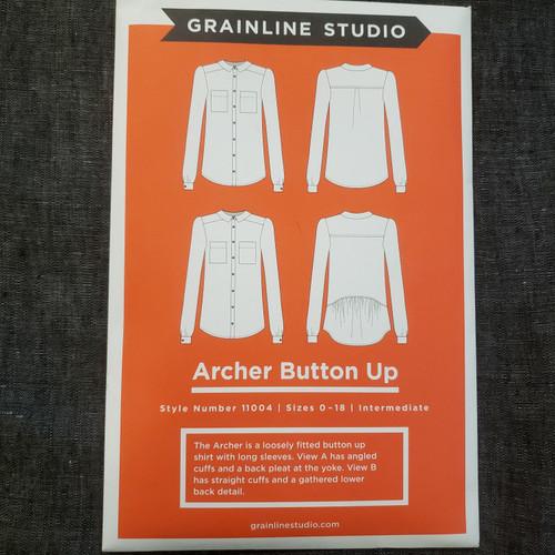 Archer Button Up- Grainline