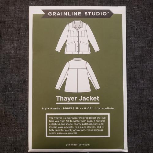 Thayer Jacket- Grainline