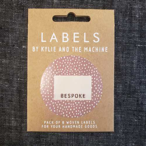 """Kylie and the Machine labels - """"Bespoke"""""""