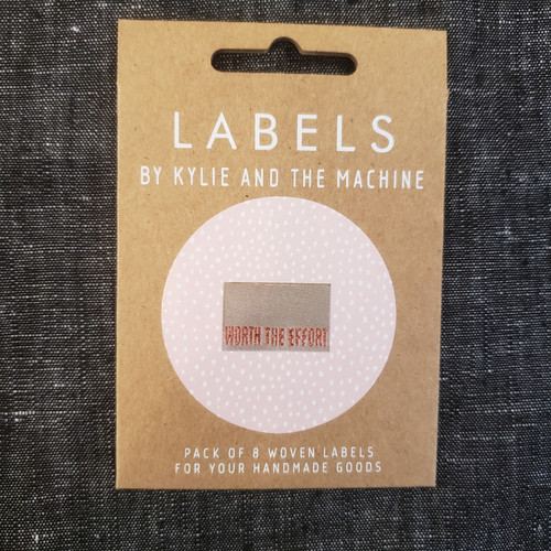 """Kylie and the Machine labels - """"Worth the Effort"""""""