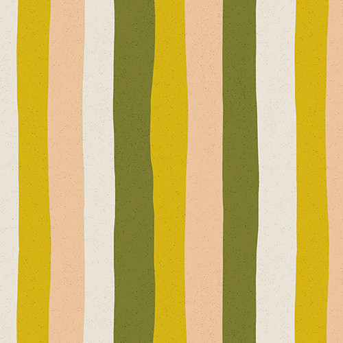 Stripe - Citrus, Perennial by Sarah Golden, Andover Fabrics - Sold by the 1/4 meter