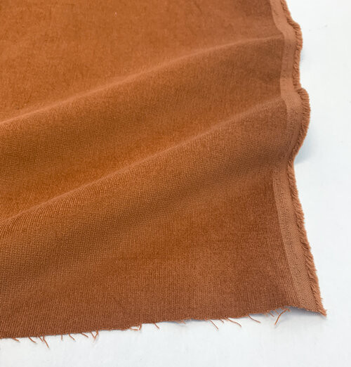 Corduroy, Lightweight Stretch - Copper- Sold by 1/4 meter