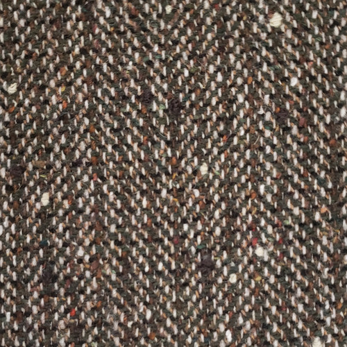 Soft Tweed Coating in Dark Brown- Sold by the 1/4 m