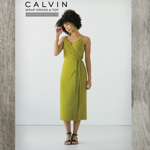 Calvin Wrap Dress & Top -True Bias