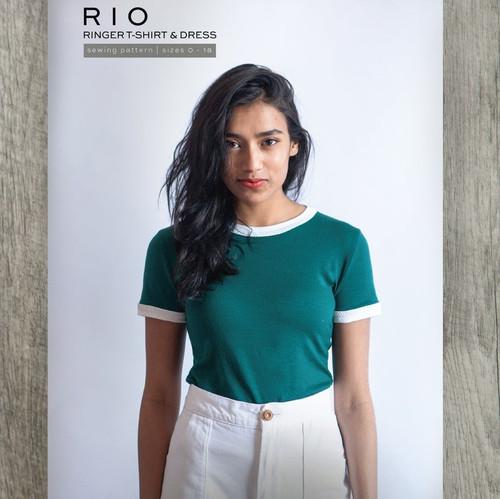 Rio Ringer T-Shirt & Dress -True Bias