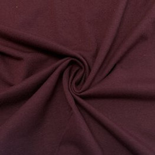 Knit - Cotton with Modal, Shiraz - Sold by 1/4 meter
