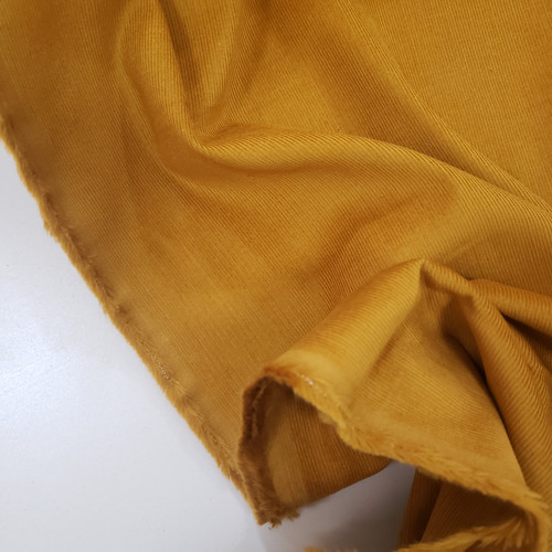 Corduroy, 21 wale- Golden- sold by the 1/4 meter