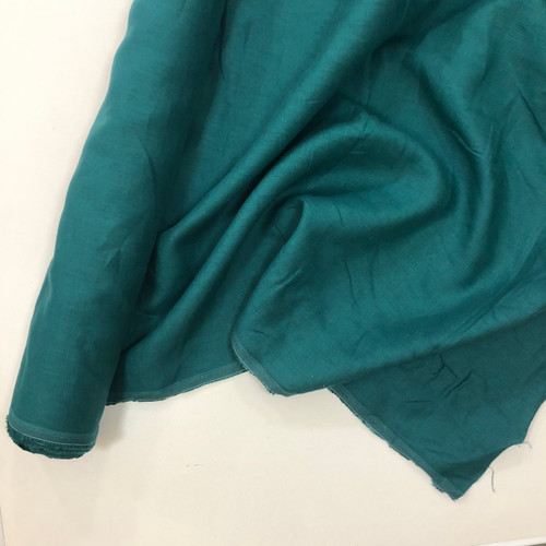 Linen 200 GSM - Teal Sold by the 1/4 meter