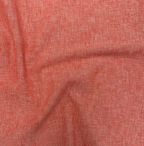 Copy of Cotton Linen Blend Tangerine (Belize) - Sold by the 1/4 meter