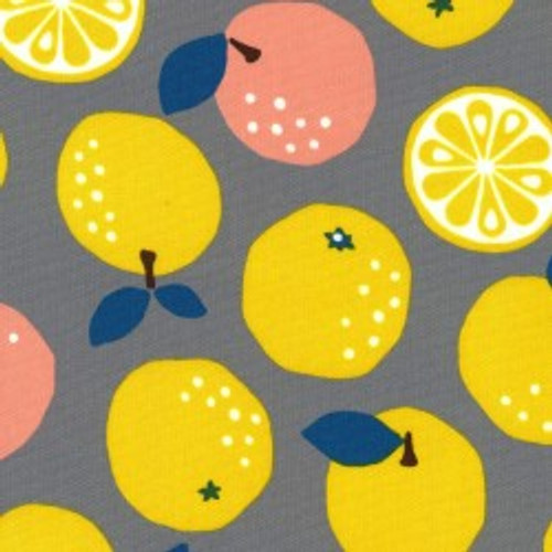 Oranges - Oxford, 100% Cotton, By Kokka - sold by the 1/4 meter