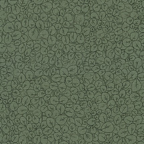 Leaves, Olives, CF Collection -  Sold by the 1/4 meter