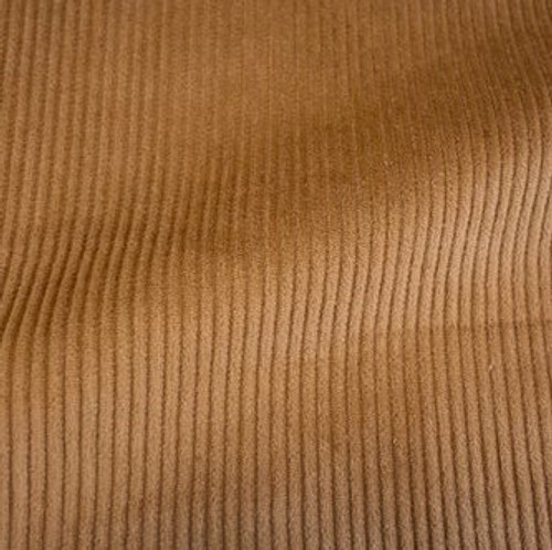 Corduroy 8 Wale Stretch - Copper - Sold by 1/4 meter