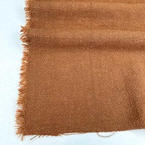 Echo - Jacquard Viscose/Linen Blend - Toffee- (sold by the 1/4 meter)