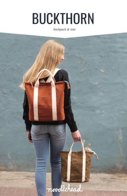 Buckthorn Backpack & Tote- Noodlehead
