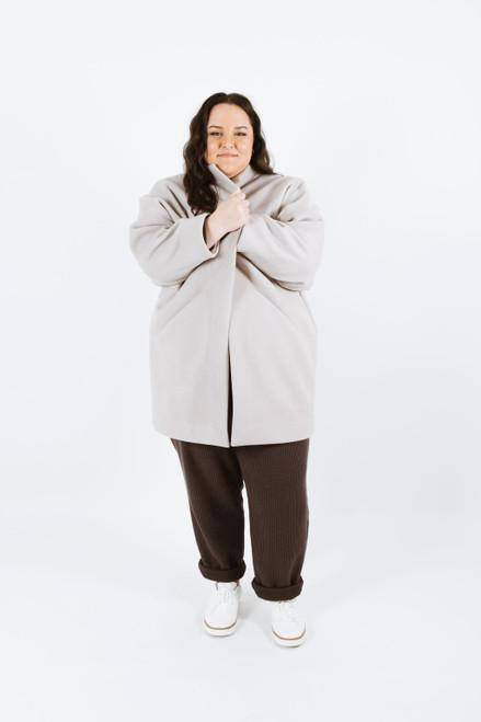 Nora Curve Coat  / Jacket- Papercut Patterns