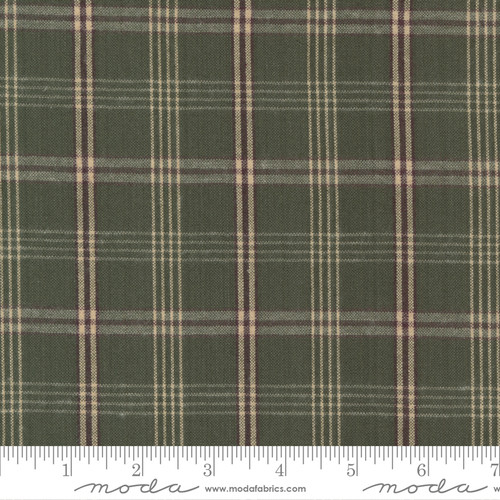 Homemade Homespuns By Moda - Green Plaid 9660 30 (sold by the 1/4 meter)