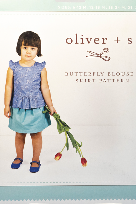 Butterfly Blouse + Skirt - Oliver & S.