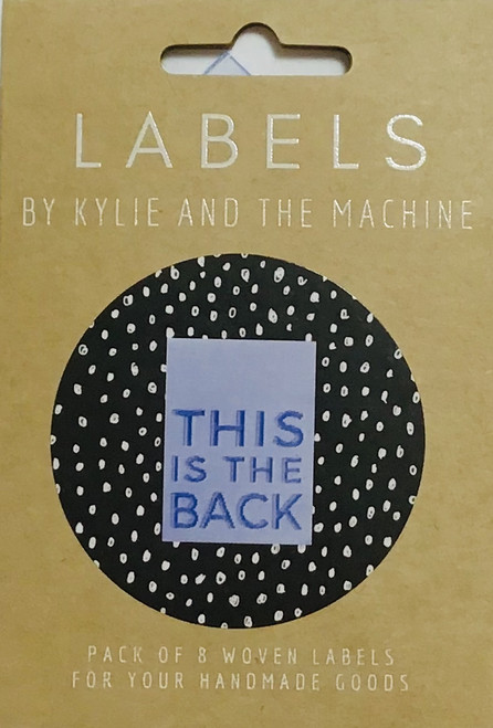 """Kylie and the Machine labels - """"This is the Back"""""""