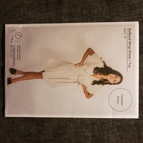 Bellbird Wrap Dress/ Wrap Top - Common Stitch