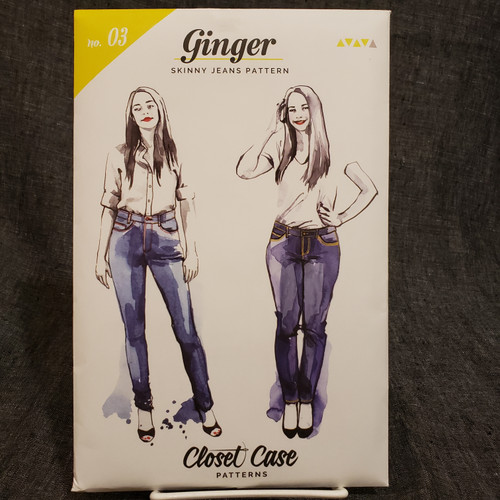 Ginger (Skinny Jean) - Closet Core Patterns