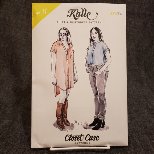 Kalle Shirt/Shirt dress - Closet Core Patterns