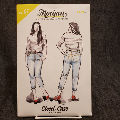 Morgan (Boyfriend Jeans)  - Closet Core Patterns