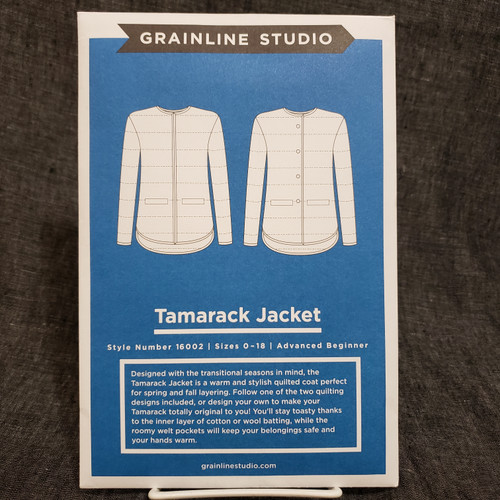 Tamarack Jacket- Grainline