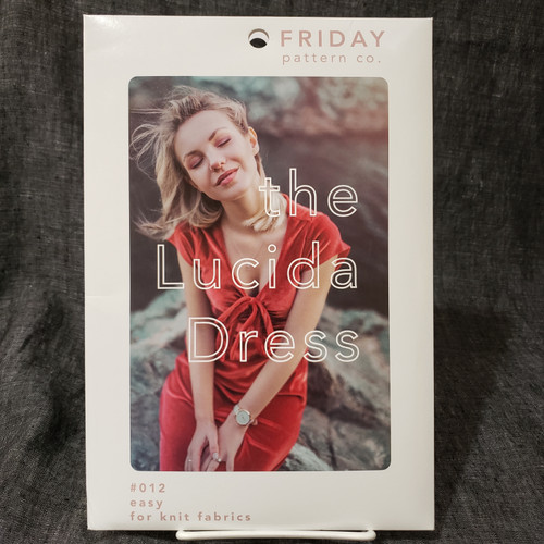 The Lucinda Dress - Friday Pattern Company