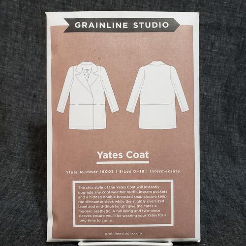 Yates Coat - Grainline Studio