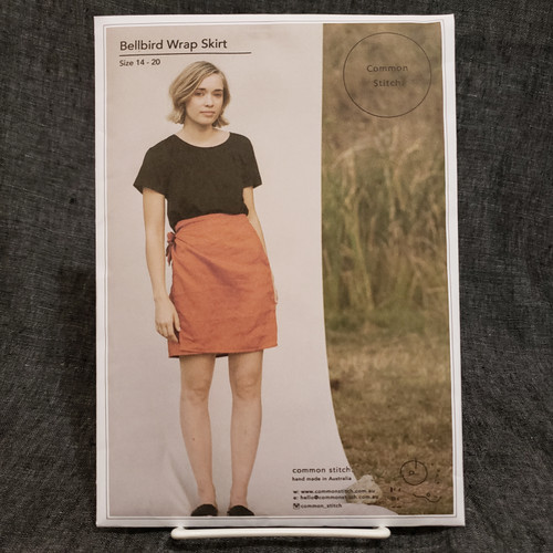 Bellbird Wrap Skirt - Common Stitch