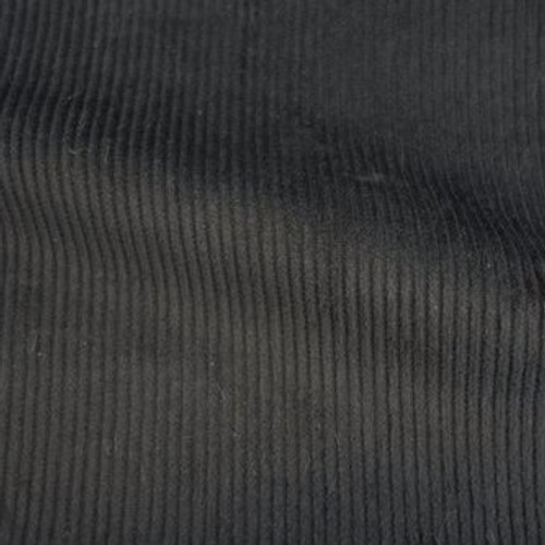Corduroy - Charcoal - Sold by 1/4 meter