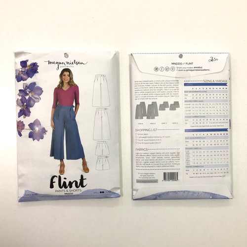 Flint Pants & Shorts - Megan Nielsen