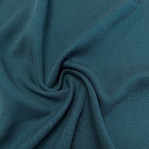 Lyocell Twill, Petrol- Sold by the 1/4 meter